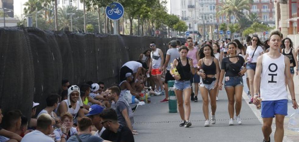 Todas las promesas en Valencia contra el botellón, incumplidas