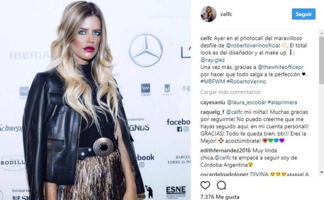Muere la modelo valenciana Celia Fuentes