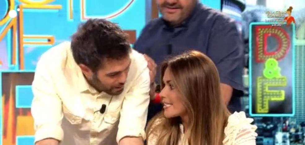 El 'calentón' de Dani Martínez con Lara Álvarez en 'Dani & Flo'