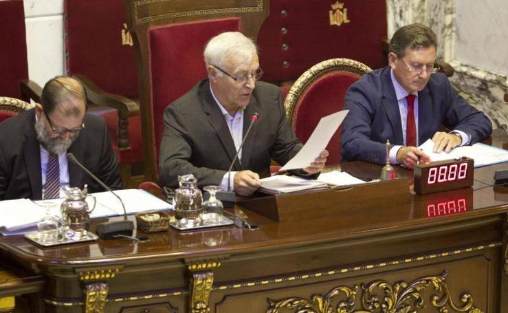 Fotos del Debate sobre el Estado de la Ciudad de Valencia