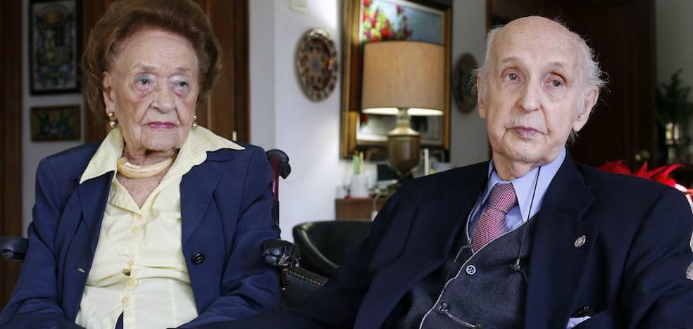 Muere Frances Thompson, esposa del profesor valenciano Santiago Grisolía