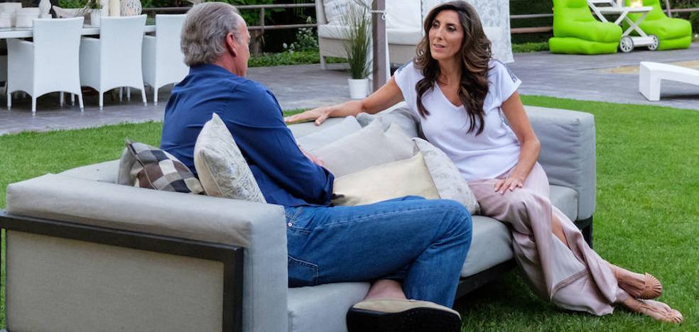 Paz Padilla protagoniza la entrevista más accidentada de 'Mi casa es la tuya'