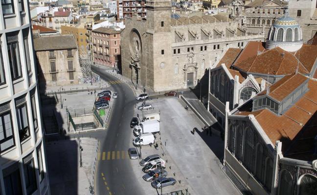 Las obras del aparcamiento de plaza de Brujas de Valencia empezarán en primavera