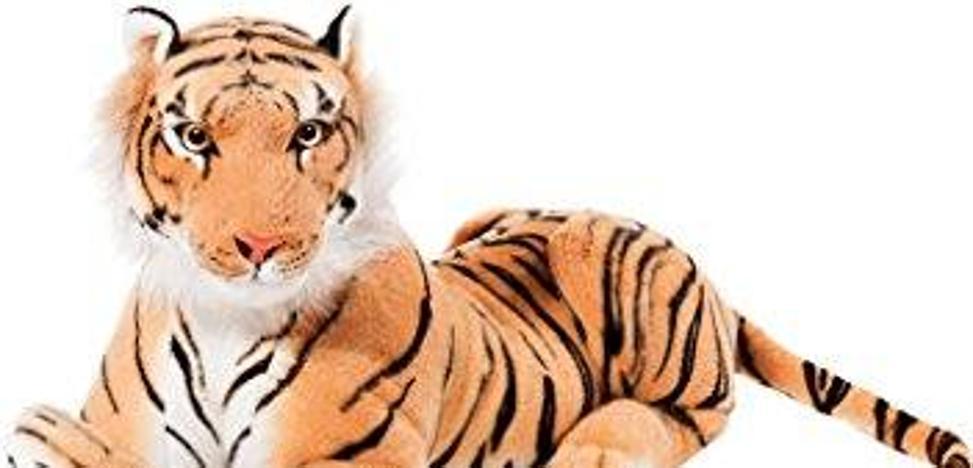 Un tigre de peluche moviliza a la Policía Local de Valencia