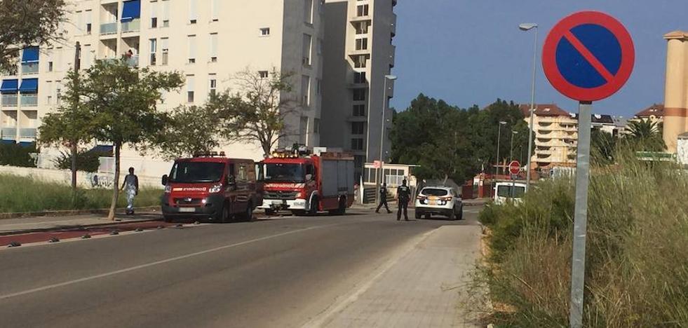 Fallece el conductor de un ciclomotor tras perder el control en Dénia