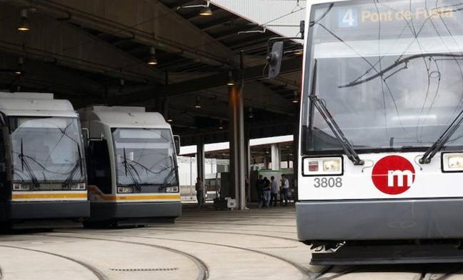El metro y el tranvía serán gratuitos hoy viernes
