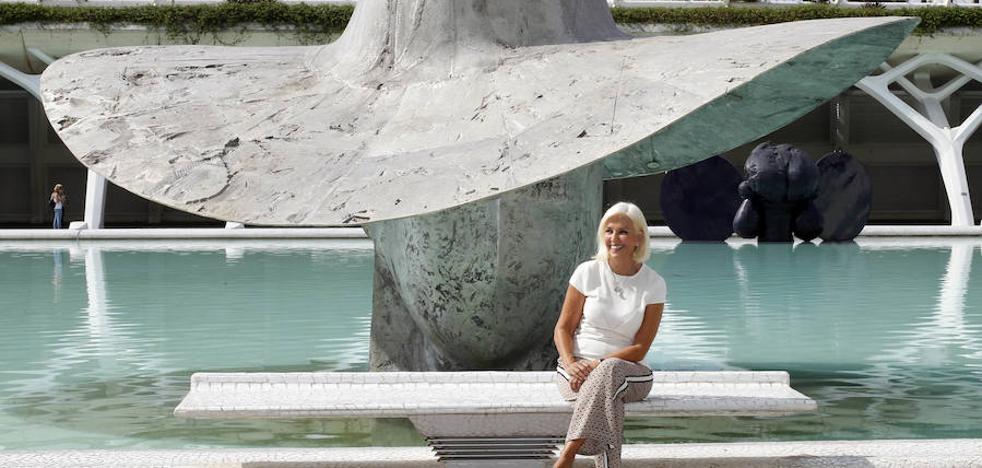 'La Pamela', de Manolo Valdés, nuevo icono de la Marina de Valencia