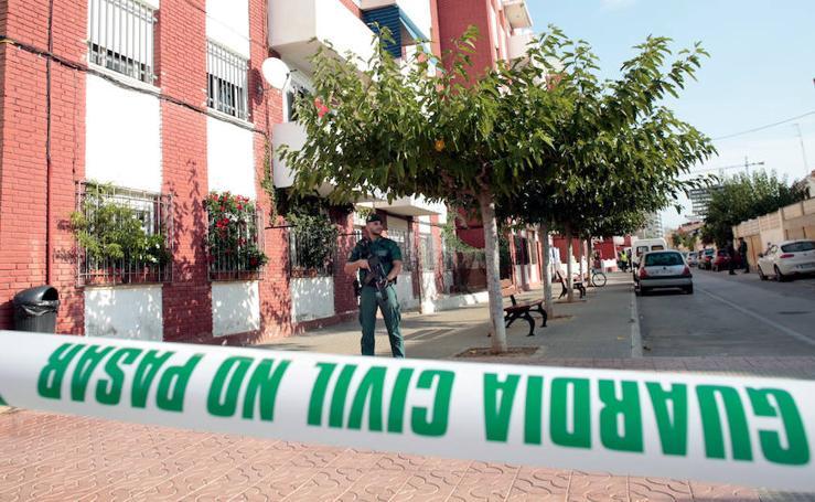 Fotos de la detención de un hombre en Vinaròs relacionado con los atentados de Barcelona
