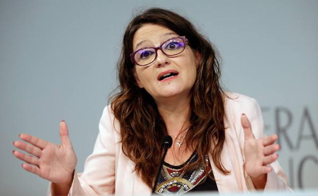 Mónica Oltra pide ahora al Govern catalán que renuncie al referéndum del 1 de octubre