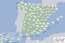 Previsión del tiempo en Valencia | Las tormentas llegan a la Comunitat