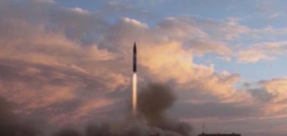 Irán prueba «con éxito» el misil de largo alcance que anunció Rohani