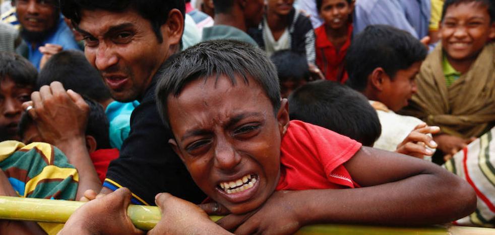 El Ejército de Birmania usa minas antipersona contra los rohinyás