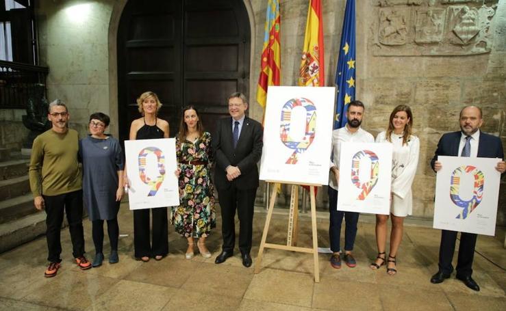 Fotos de la presentación del cartel y el programa de actos del 9 de octubre