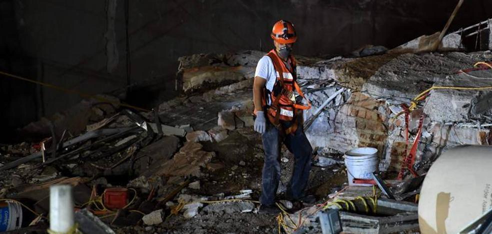 La esperanza se agota y la tensión crece por el terremoto en México