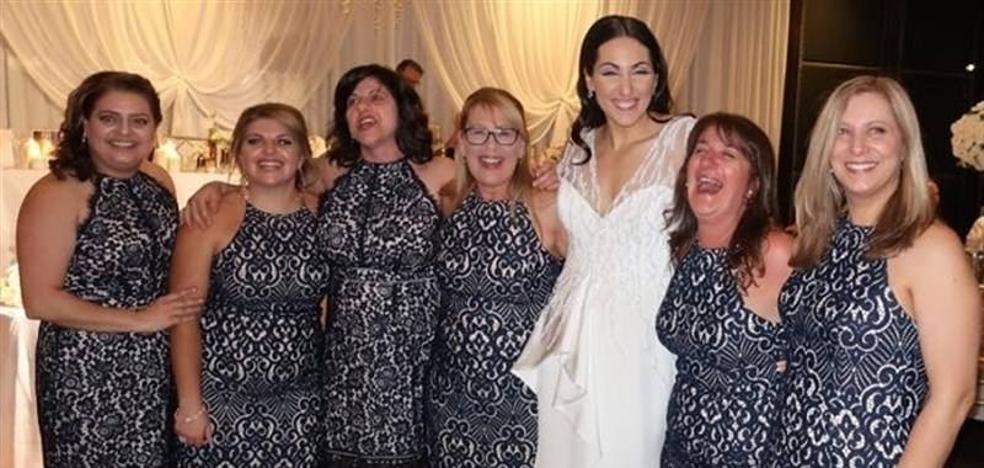 La enorme coincidencia en una boda que se ha convertido en viral