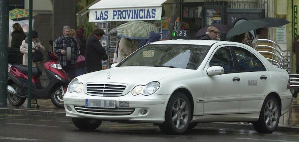 El Consell regulará los horarios de taxis del área metropolitana de Valencia