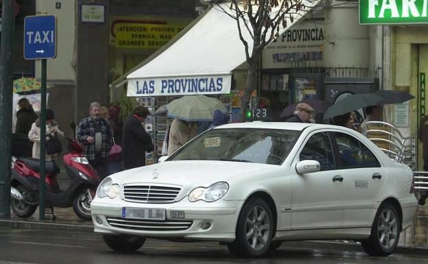 Los taxis en Valencia tendrán un horario regulado.