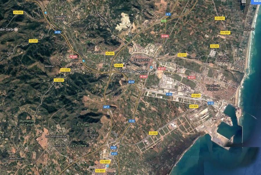 Muere atropellado un operario de una grúa que asistía a un vehículo en la AP-7 en Sagunto