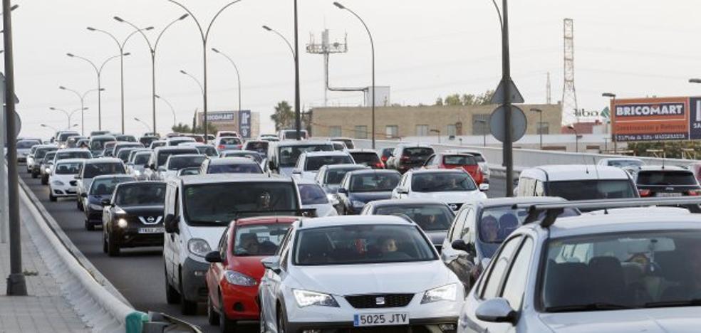 Los accesos de Valencia registran más tráfico pese a las restricciones de Ribó