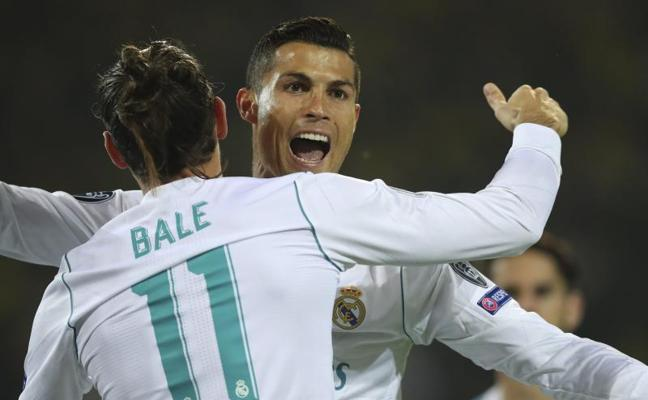 Bale y Cristiano disparan al campeón