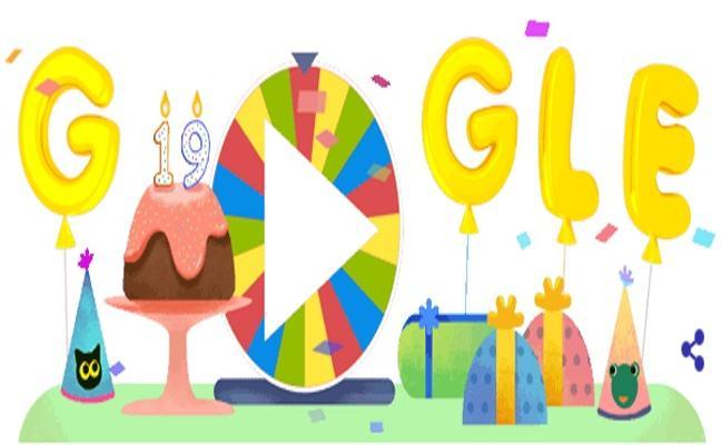 Google celebra su 19 aniversario con un Doodle sorpresa