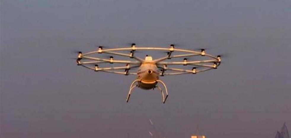 Se realiza la primera prueba de taxi volador sin piloto