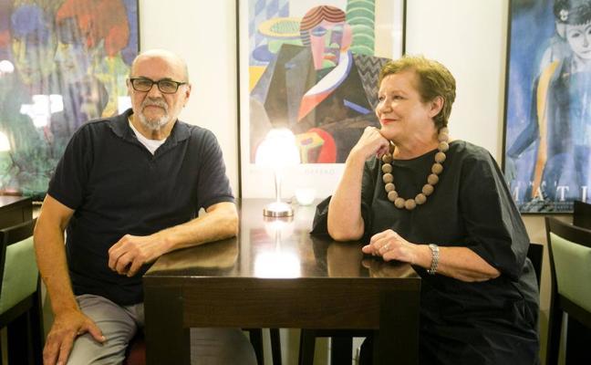 En familia con Fernando Iturraspe y Odile Garland