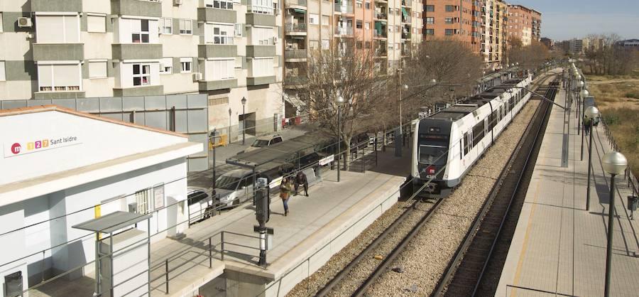Metrovalencia reabre el paso peatonal subterráneo de la estación de Sant Isidre