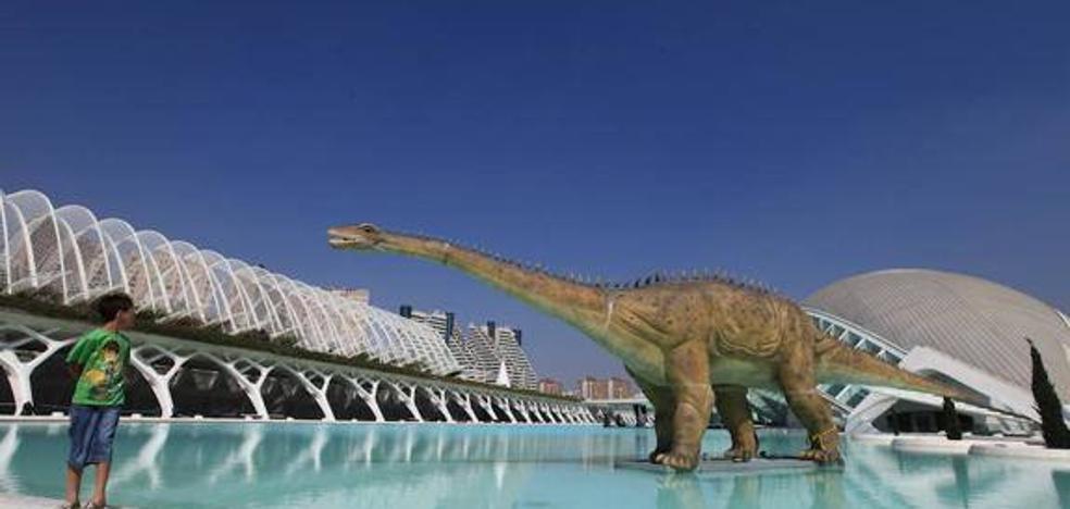 Dónde ver dinosaurios en Valencia