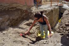 Hallan en Morella restos que podrían pertenecer a la necrópolis datada entre los años 945 y 1020