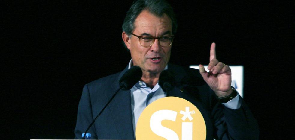 Artur Mas recurre la fianza de 5,2 millones por el 9-N alegando indefensión