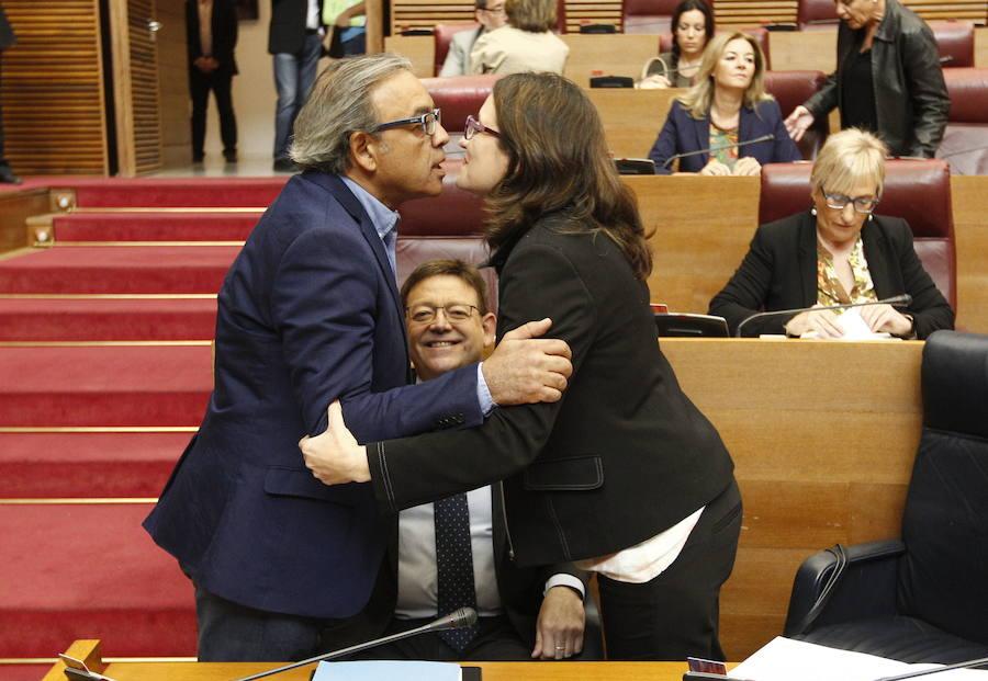 El socialista Manolo Mata es el diputado valenciano que más dinero gana, 177.650 euros en 2016