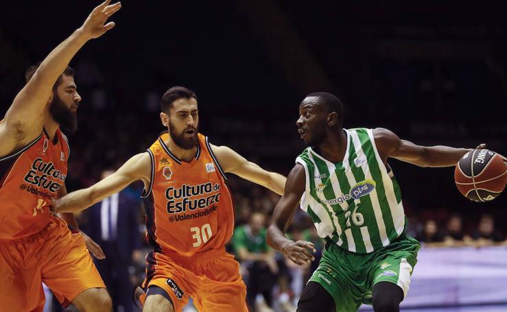 Fotos del Real Betis - Valencia Basket