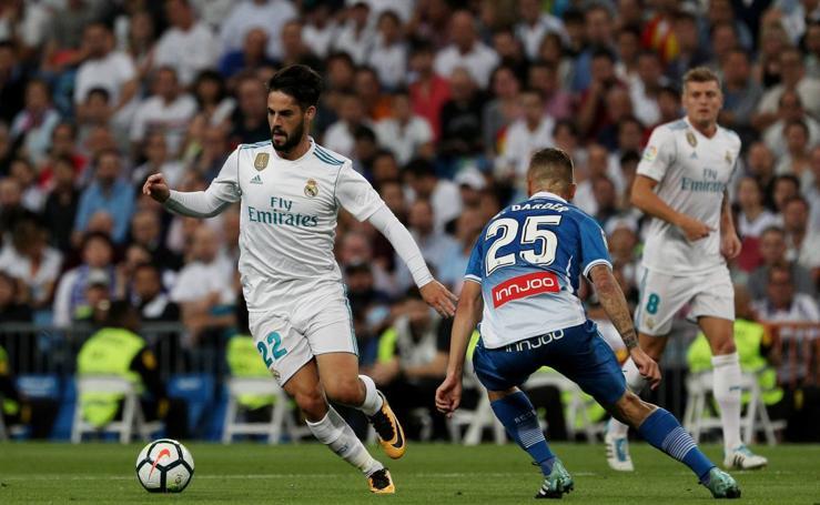 Real Madrid-Espanyol, en imágenes