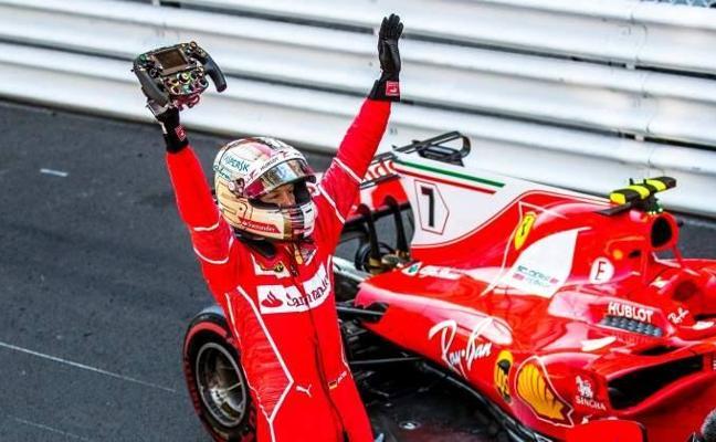 Vettel, el amuleto que necesita Ferrari