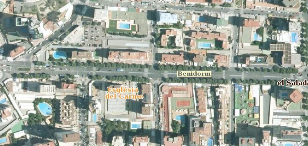 Fallece una mujer de 82 años atropellada por un autobús urbano en Benidorm