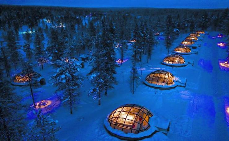 Fotos de los 'Hoteles Paisaje' más impactantes del mundo