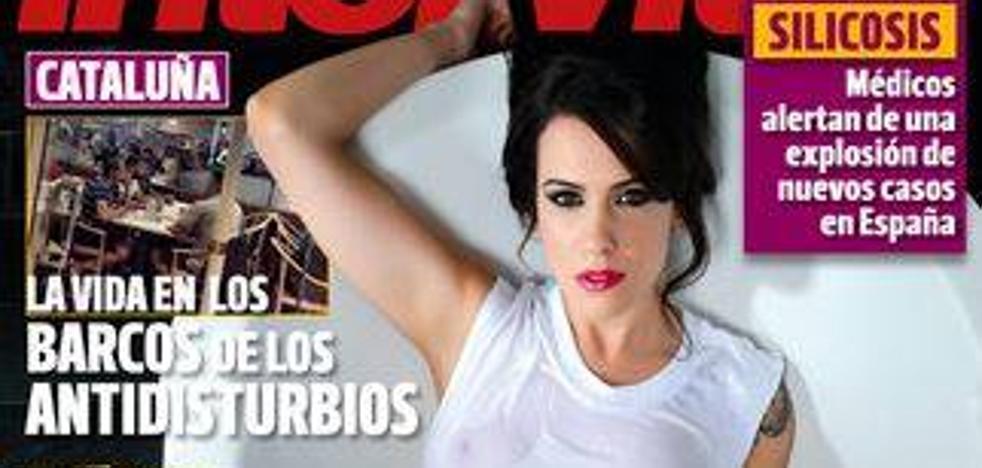 Andrea C. ('MyHyV'), pretendienta de Iván, se desnuda en 'Interviú'