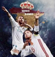 Sergio Ramos presume de españolía en Instagram
