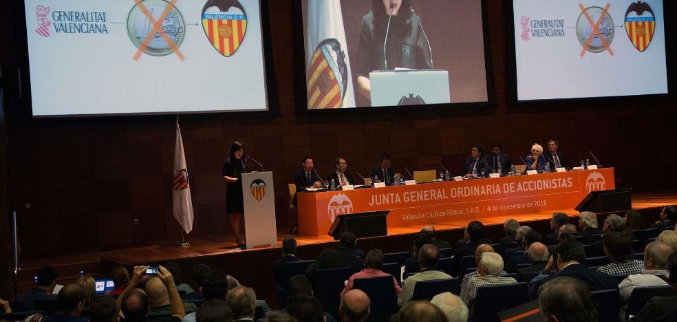 La ampliación de capital del Valencia CF, en el alambre
