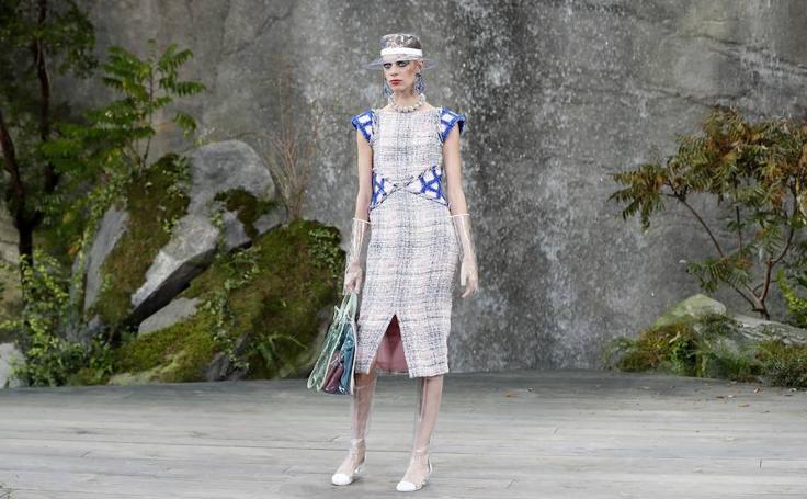 Fotos de las propuesta primavera/verano 2018 de Karl Lagerfeld para Chanel en París