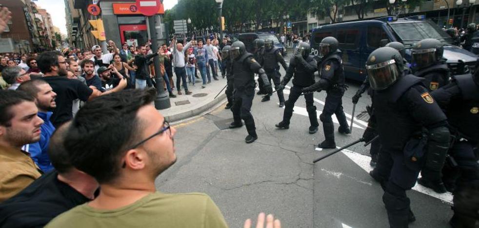 El TSJC pide a la Policía su plan de actuación policial del domingo