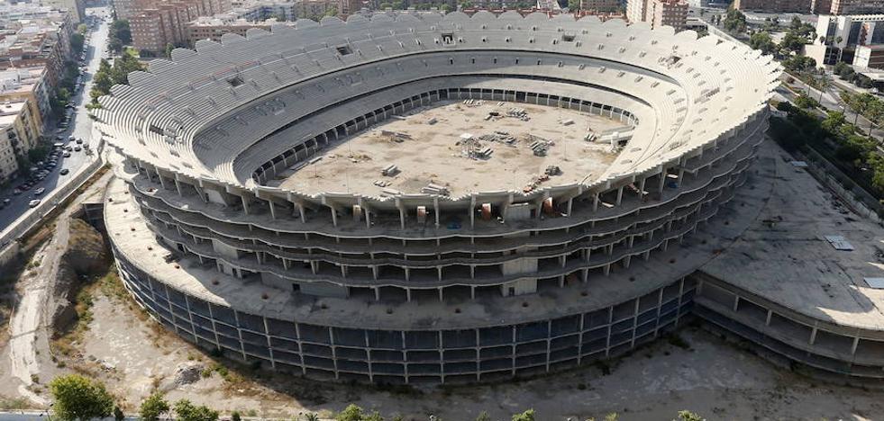 El Valencia reactiva la construcción del nuevo Mestalla