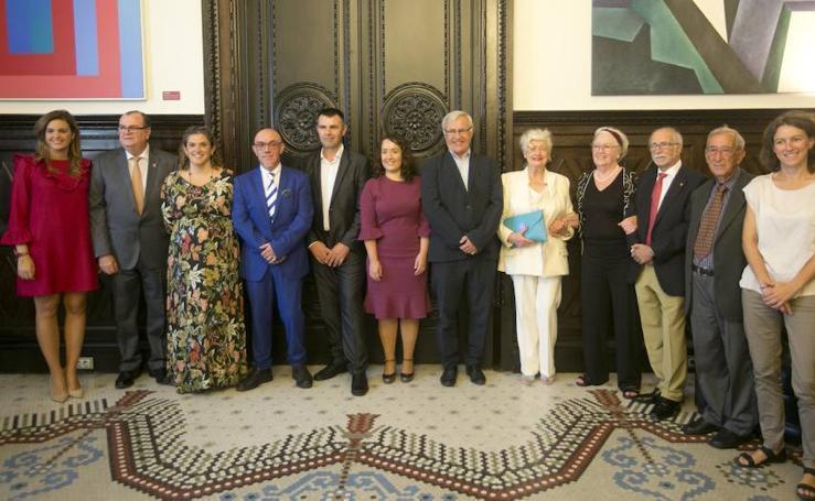 Fotos de la entrega de las Medallas de Oro de la Ciudad de Valencia 2017