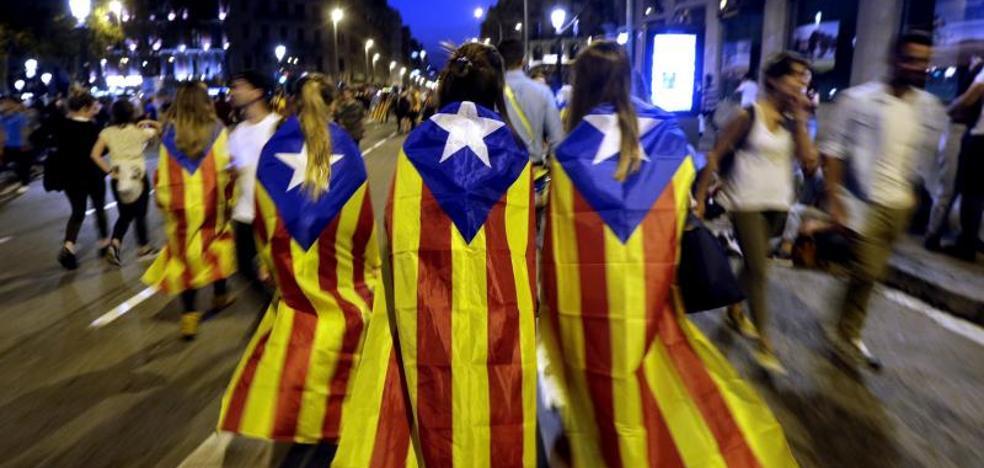 La preocupación por la independencia de Cataluña se triplica en dos meses