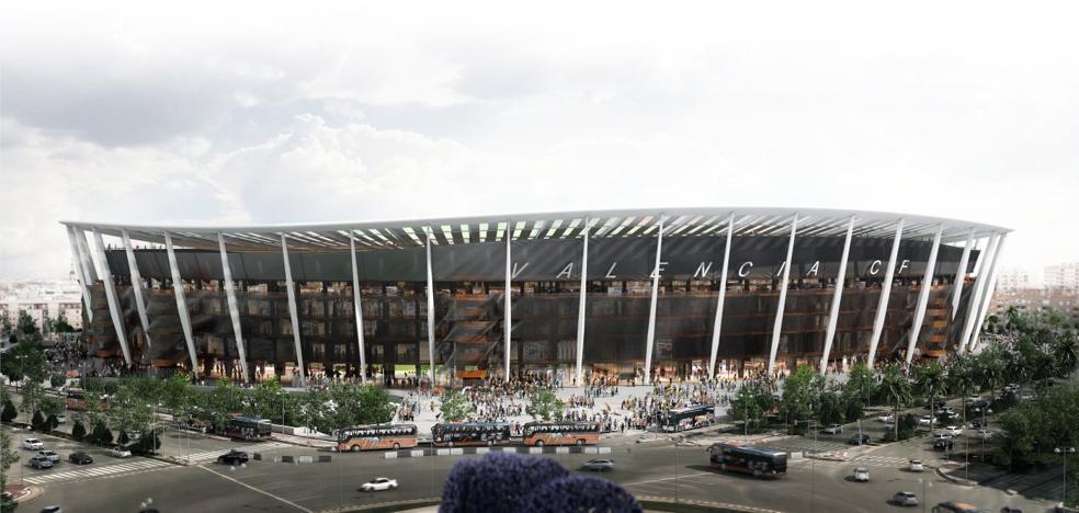 El Valencia CF se alía con Deloitte para terminar el nuevo Mestalla en la temporada 2021-2022
