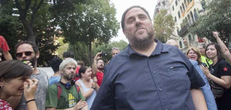 Junqueras ve «temporal» el traslado del Sabadell a Alicante