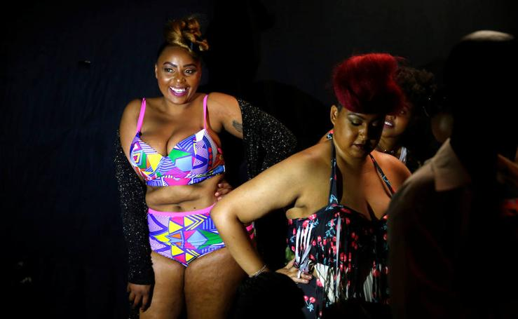 Fotos de la Fashion Week de tallas grandes en Kenia
