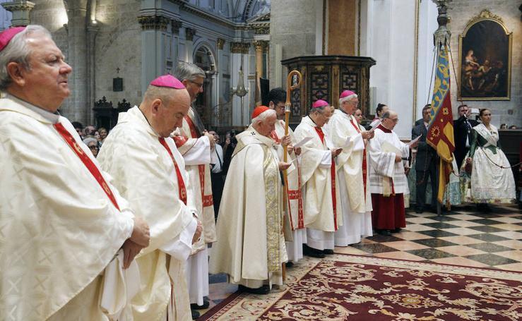 Fotos del Tedéum en la Catedral de Valencia