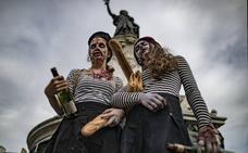 Los zombis infectan el centro de París